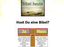 Hast du eine Bibel?
